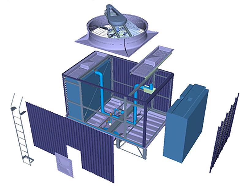 Cooling Tower  U2013 Kuken Cooling Tower
